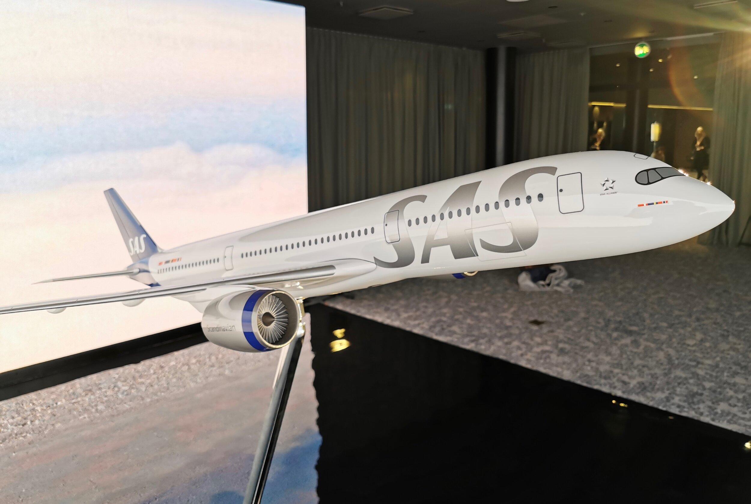 Slik blir de nye flyene fra SAS. Foto: Odd Roar Lange