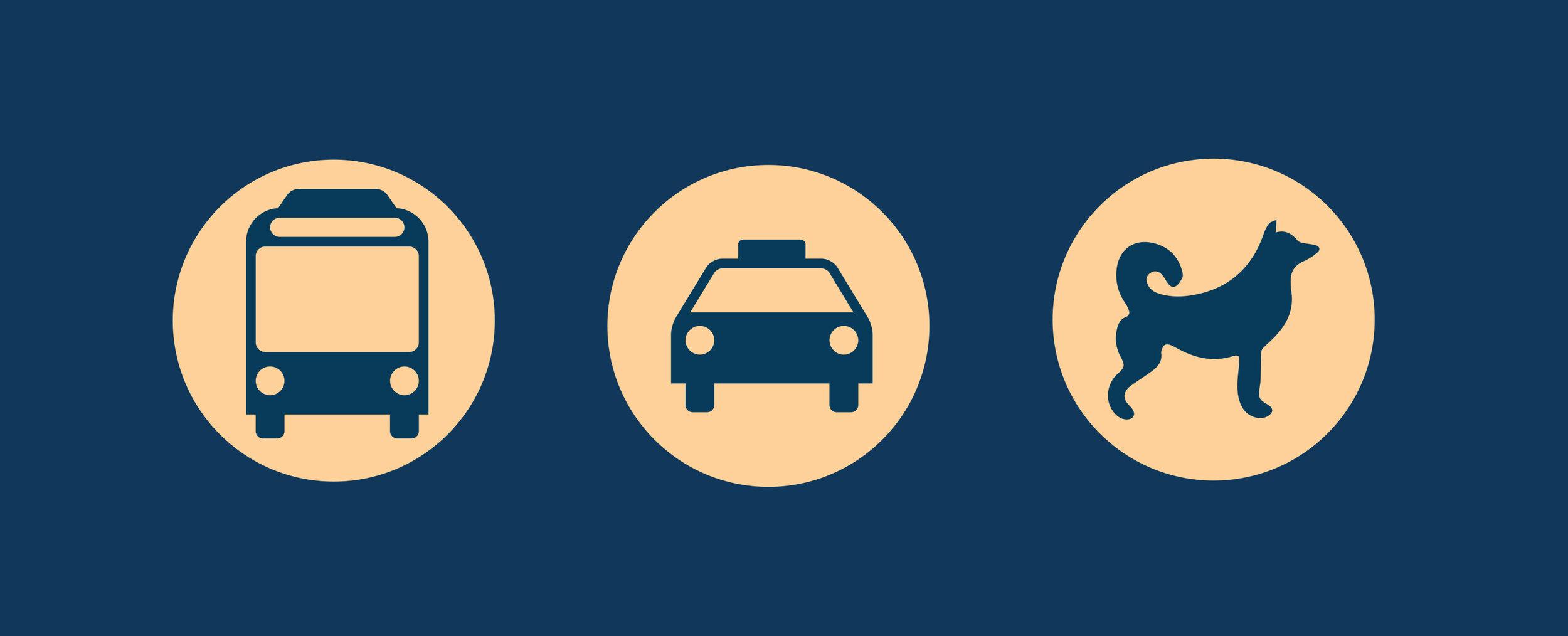 Hvordan vil du transporteres fra flyplassen?