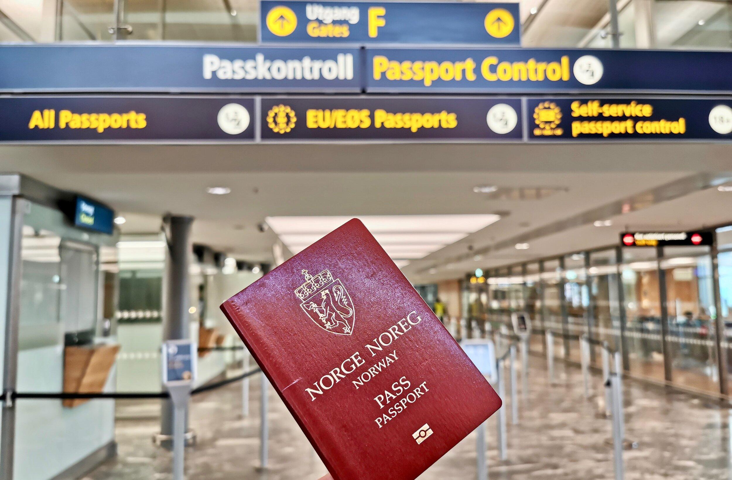 Hold deg oppdatert på de aller siste reglene for passet ditt.                Foto: Odd Roar Lange
