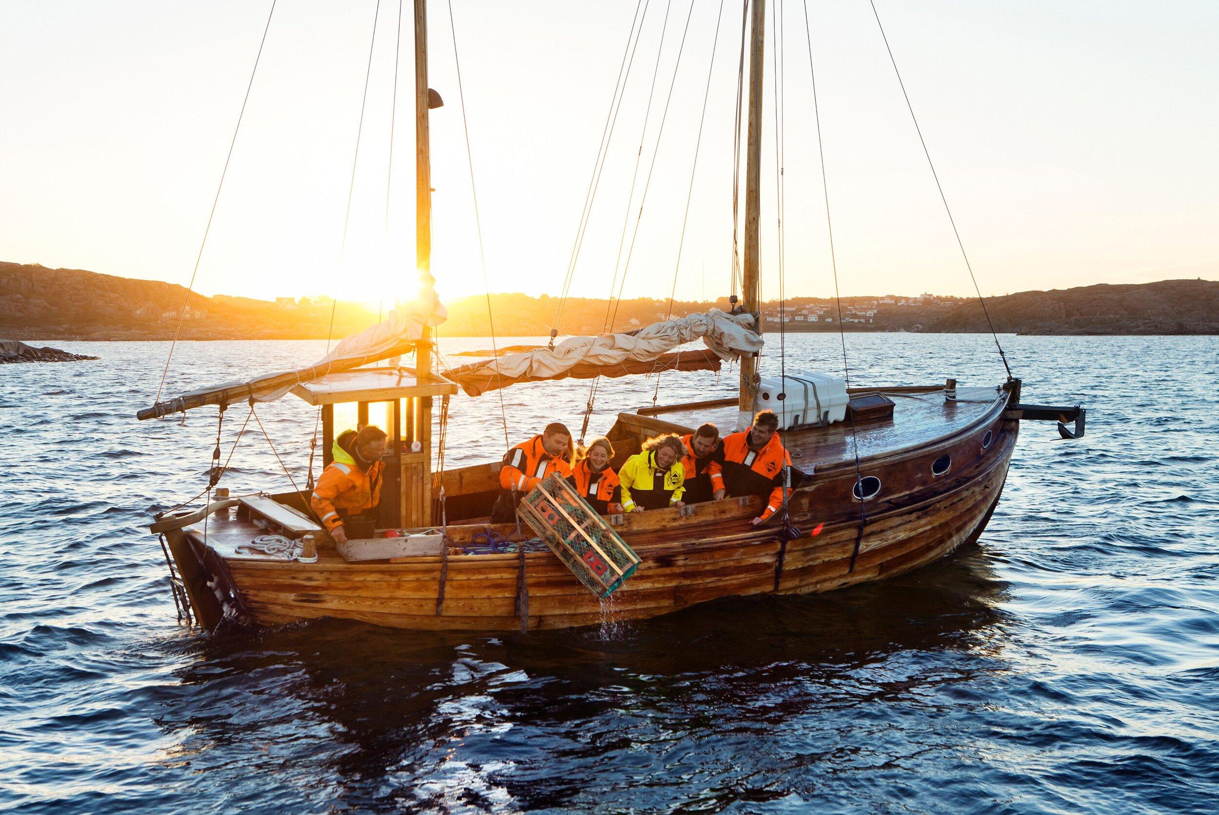 Er du klar for hummerfiske på den svenske vestkysten?                         Foto: Robert Borgelid/Visit Sweden