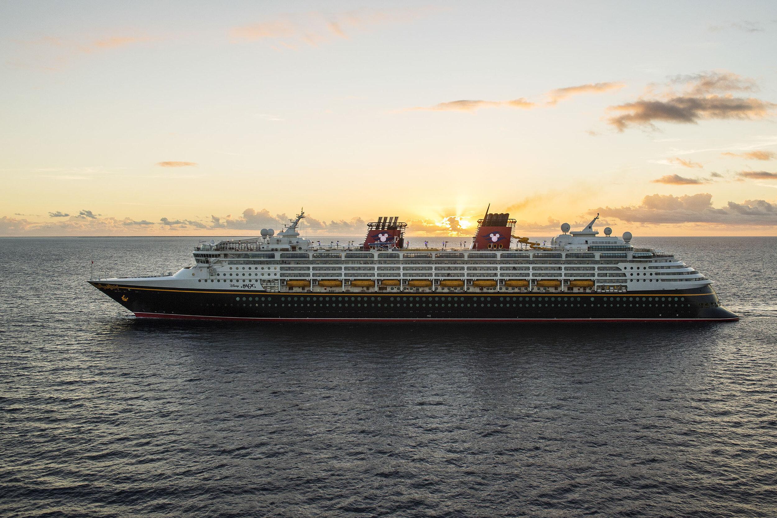 Disney besøker også Norge på noen av sine seilaser.