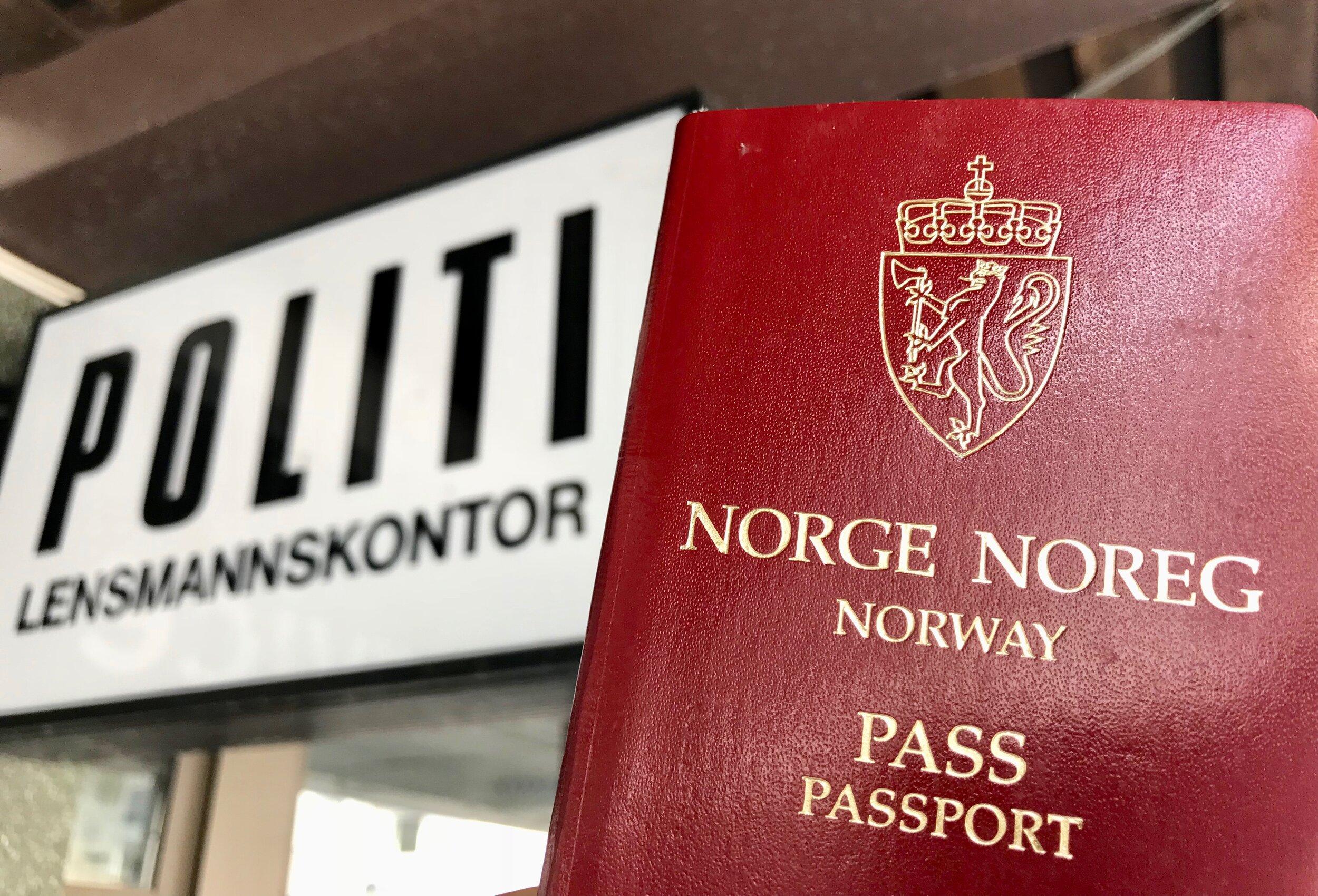 Nar Bor Du Bestille Ditt Nye Pass The Travel Inspector
