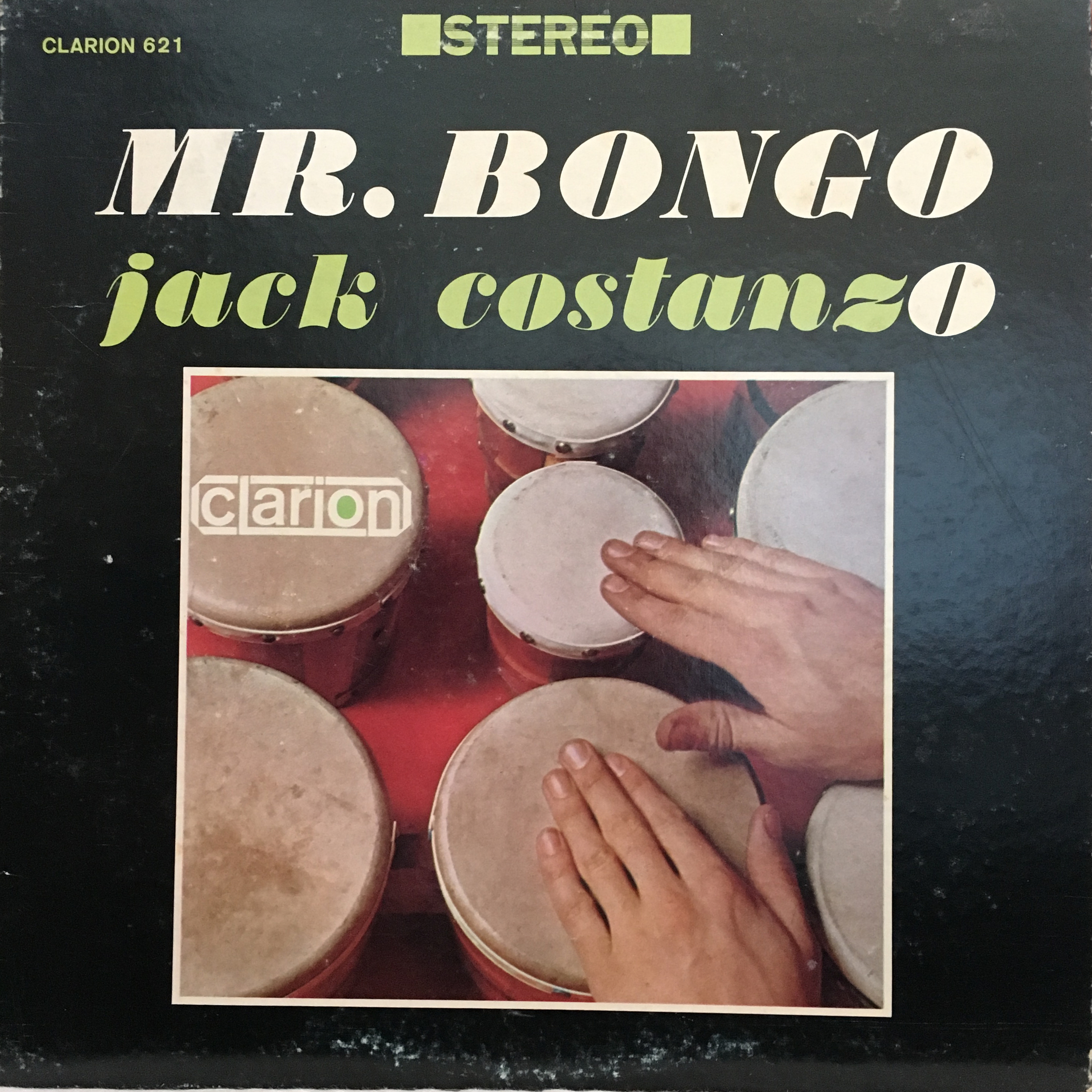 Mr. Bongo by Jack CostanzO. I fixed it for you, Clarion.