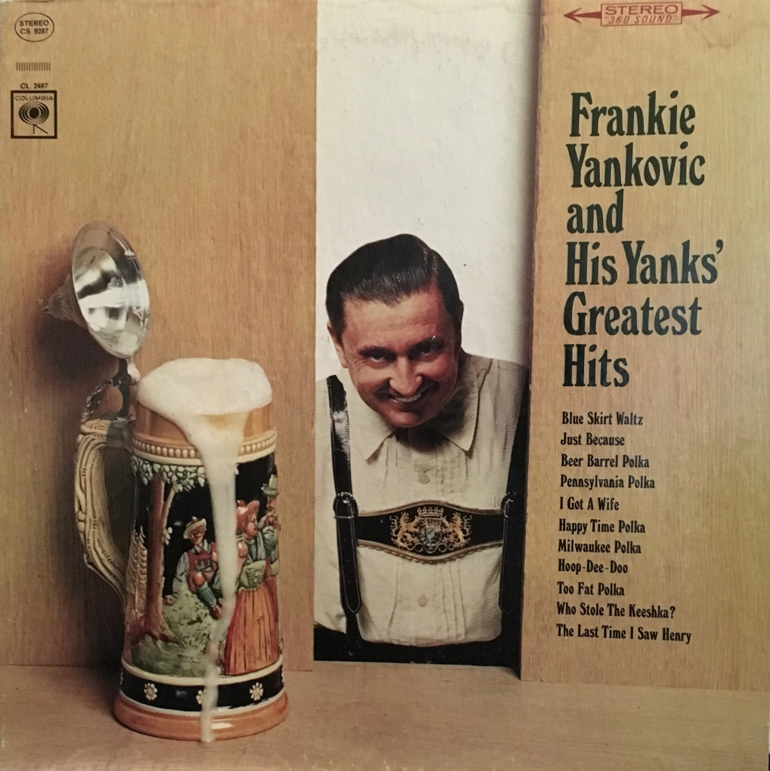 Frankie Yankovic being a creeper