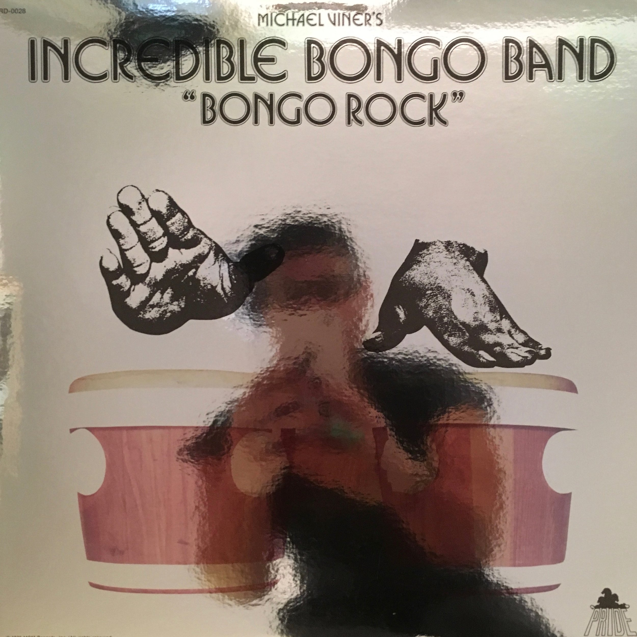 Shiny shiny 40th anniversary sleeve from Mr. Bongo