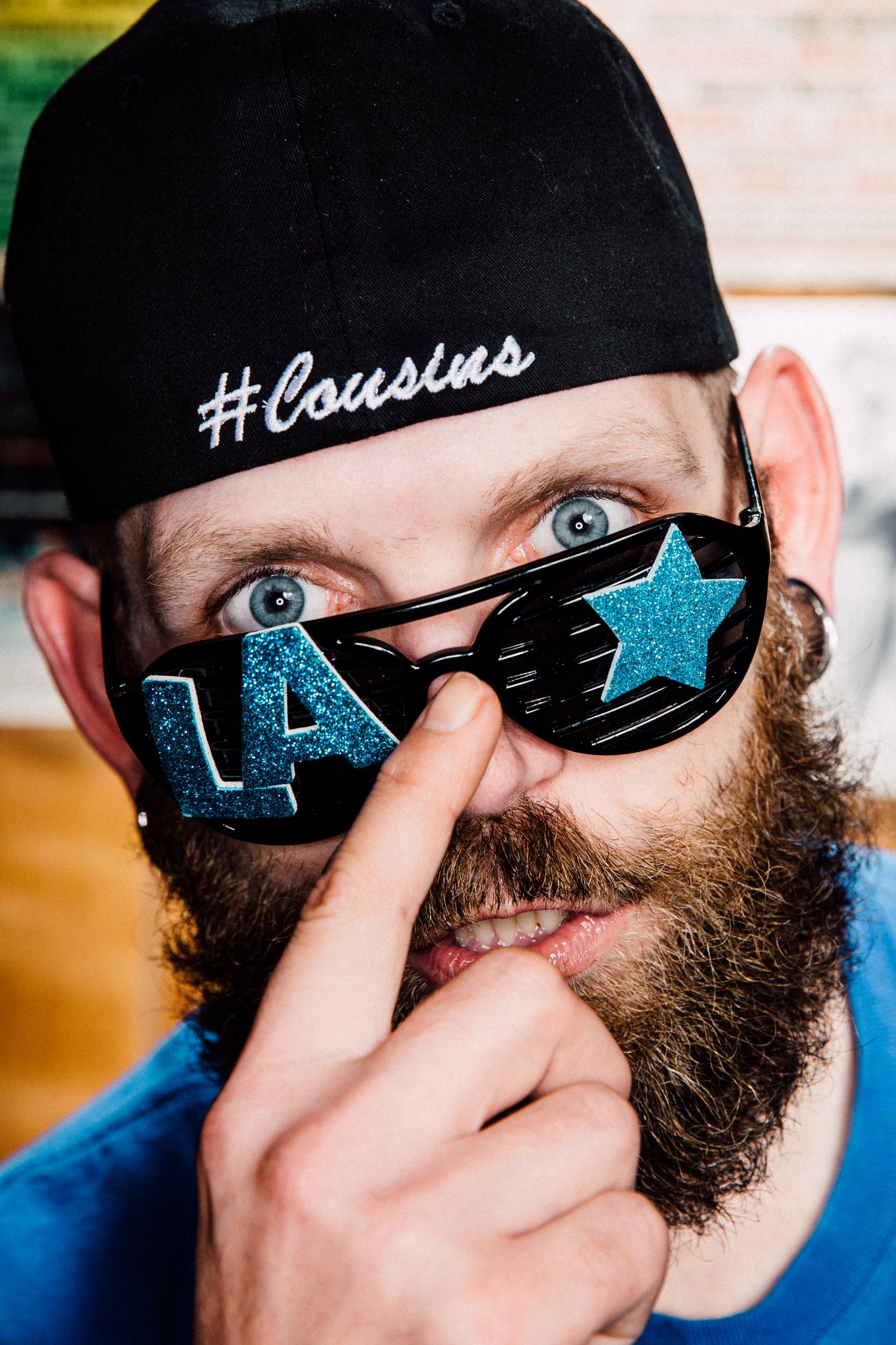 """Luke """"LA Starr"""" Abell, part-time wrestler, full-time meat packer"""