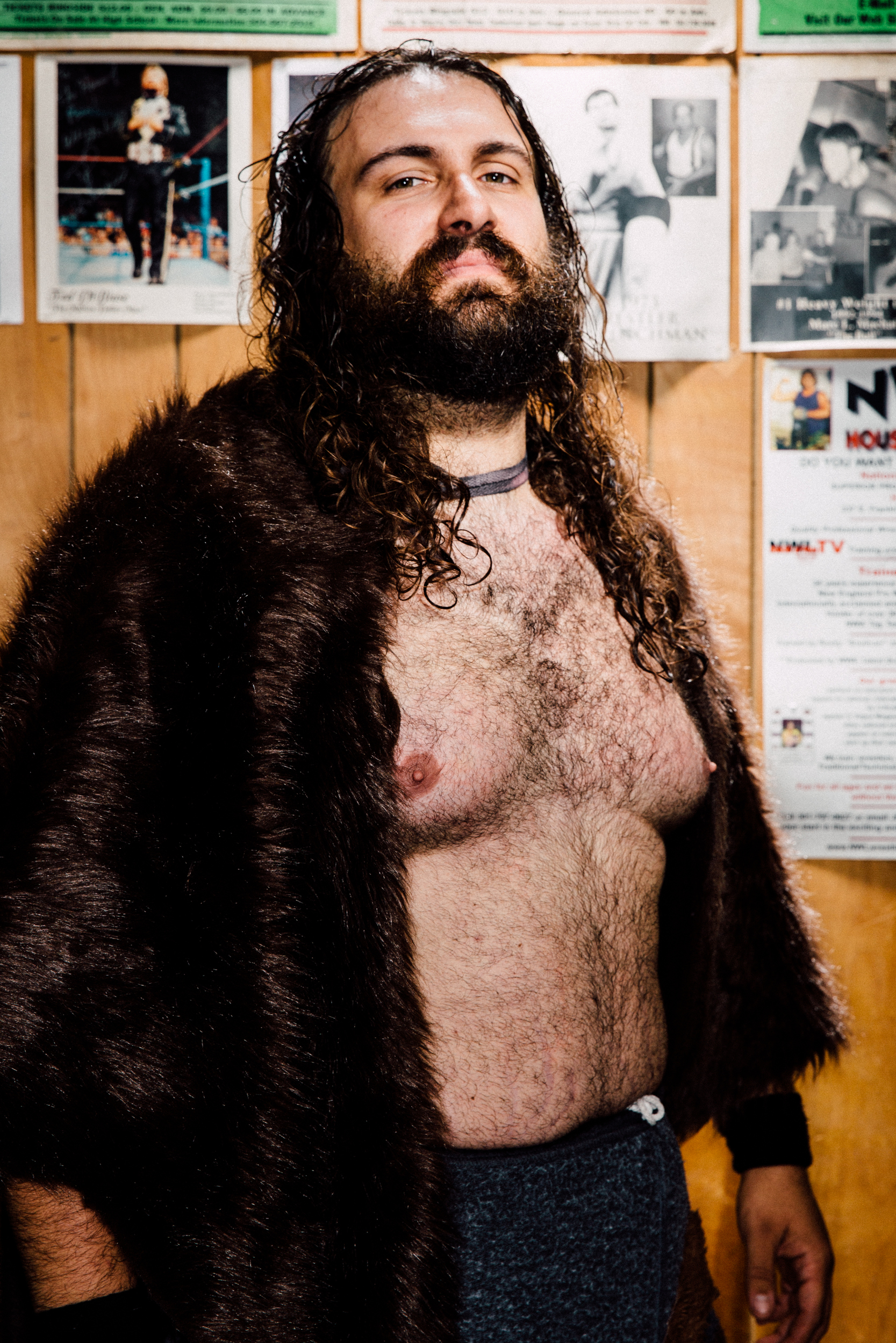 """""""Grizzly"""" Joe Grasso, part-time wrestler, full-time choreography"""
