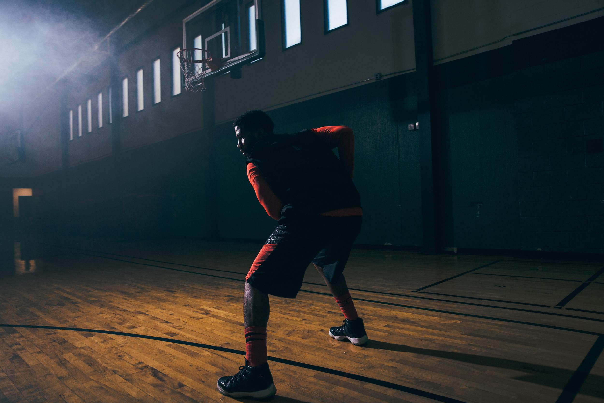 Nov 7, 2016; Atlanta, GA, USA; Point3 Basketball brand shoot on location in Atlanta, GA.