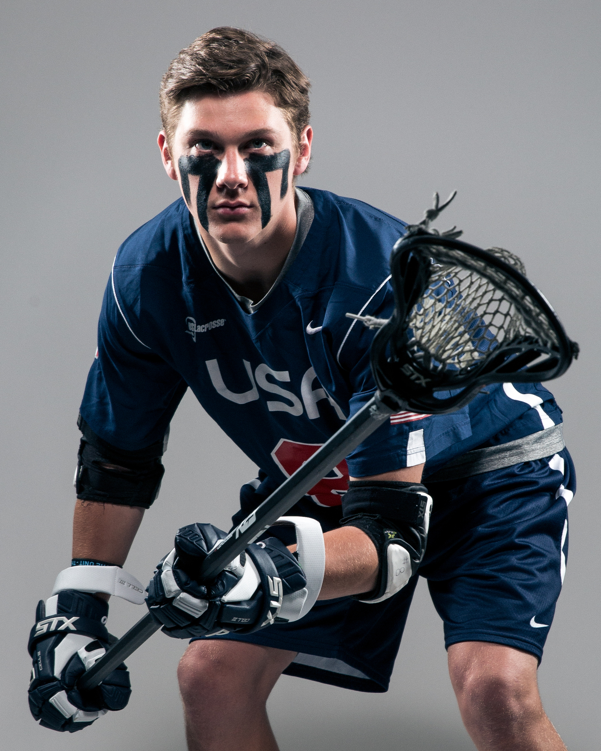 April 28, 2016; Baltimore, MD, USA; Johns Hopkins Blue Jays and U-19 Team USA defender Patrick Foley poses for a portrait at Historic Homewood Field on campus in Baltimore, MD.Credit:Brian Schneider-www.ebrianschneider.comInstagram - @ebrianschneiderTwitter - @brian_schneiderFacebook - @ebrianschneider