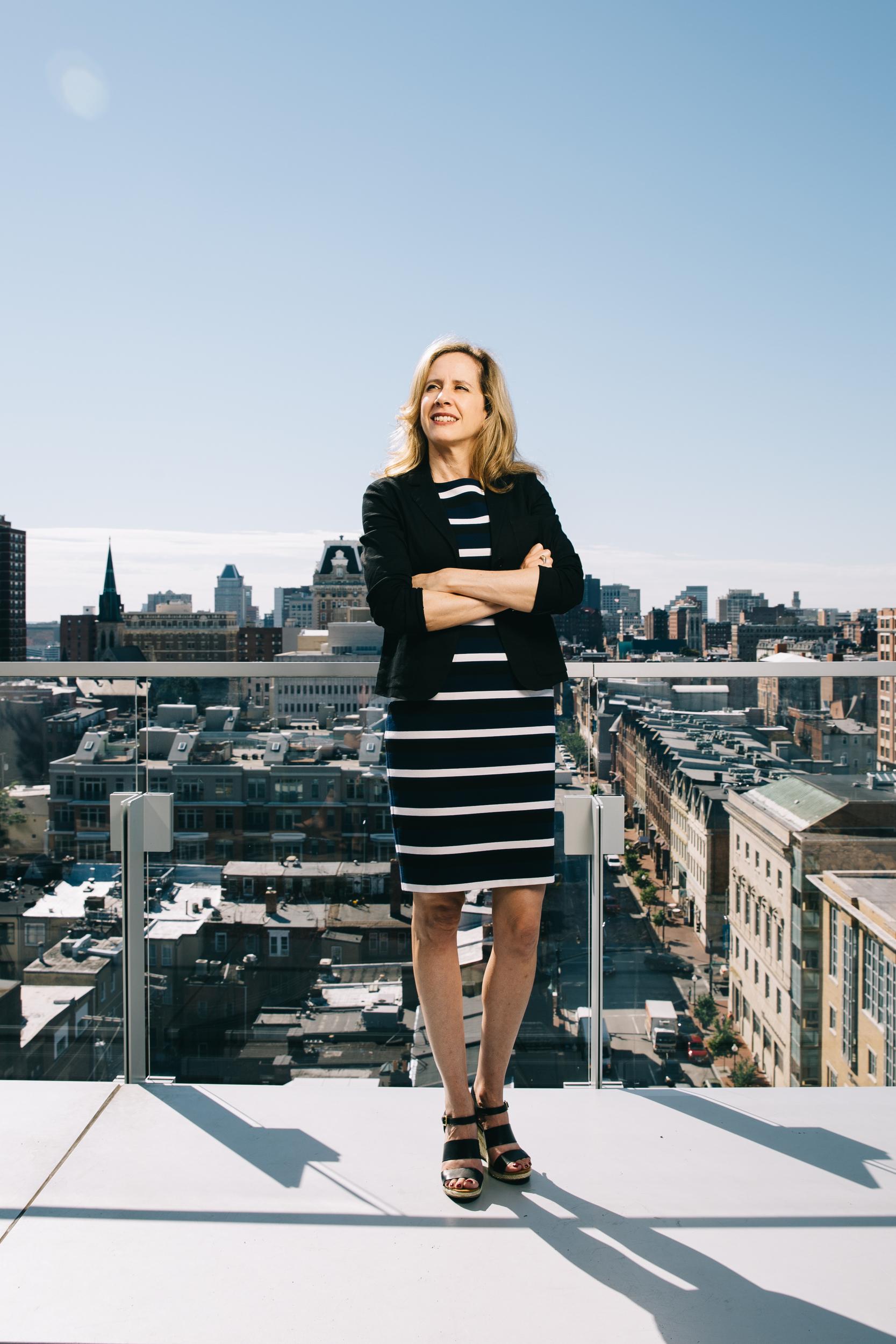 University of Baltimore professor Michele Gilman.