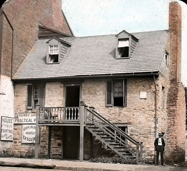 Old Stone House in 1890.