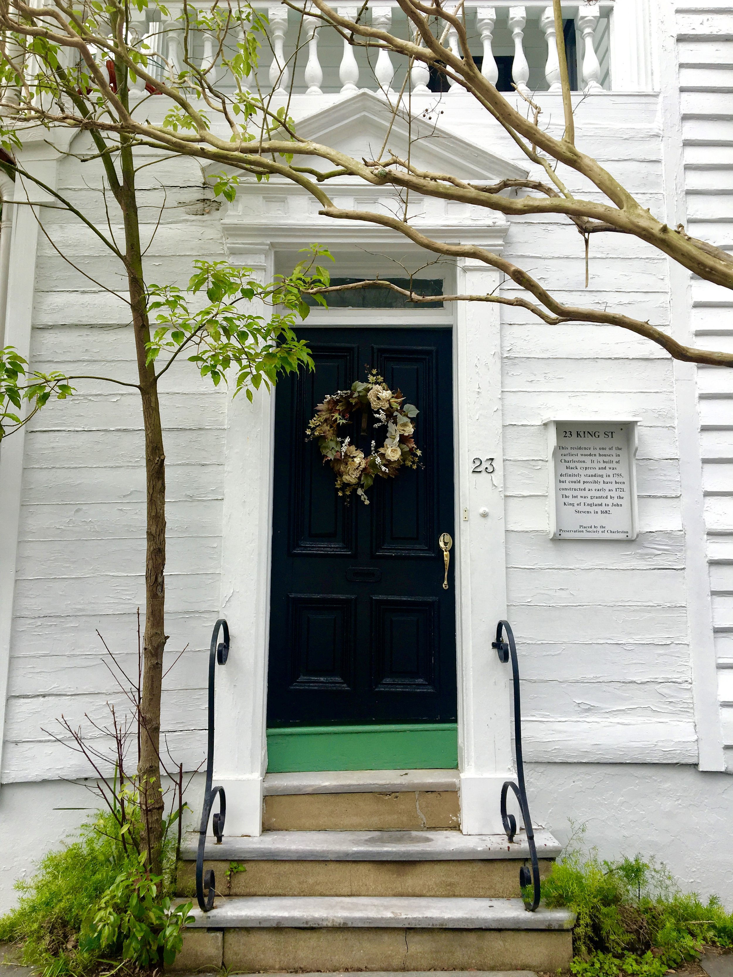 Private Residence in downtown Charleston.