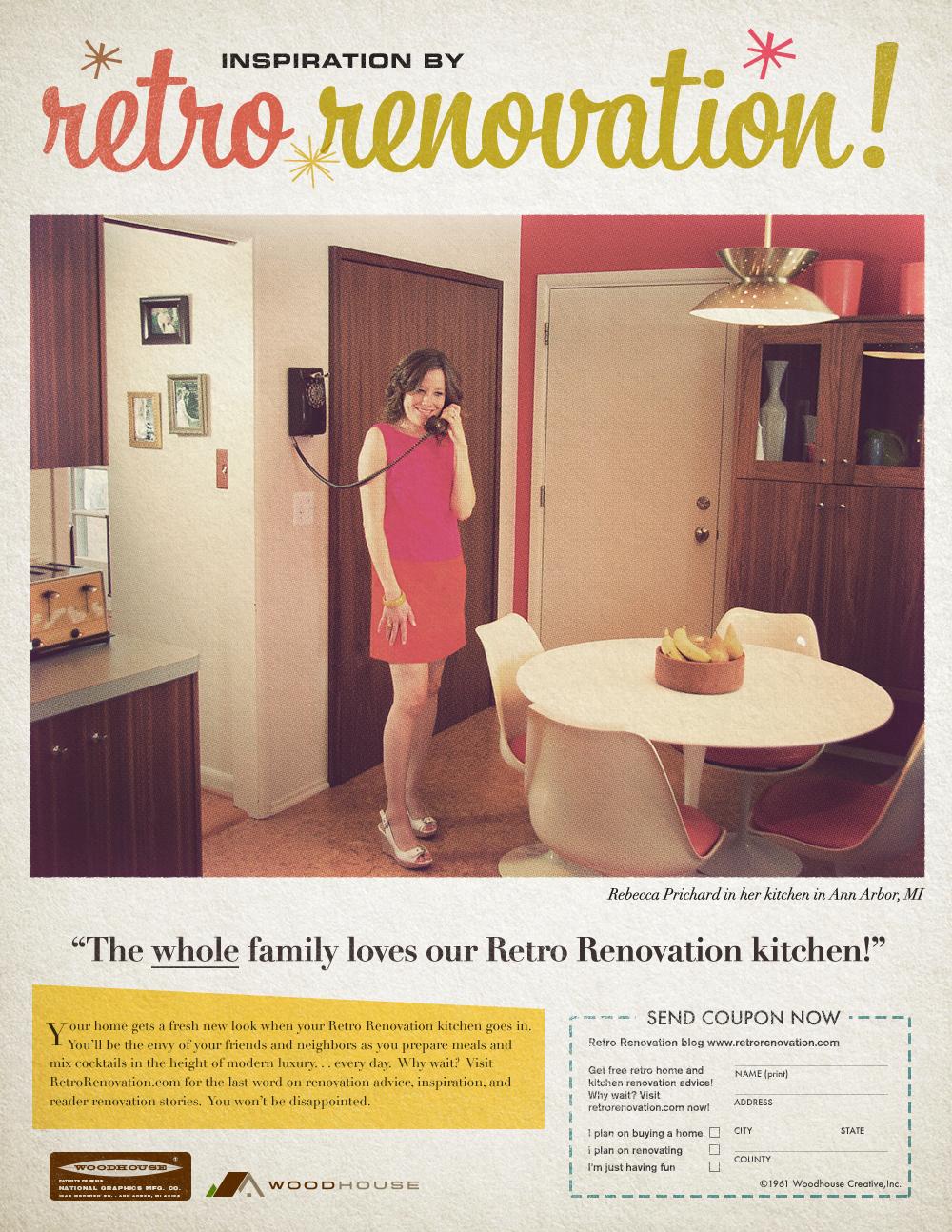 Retro Renovation — Woodhouse