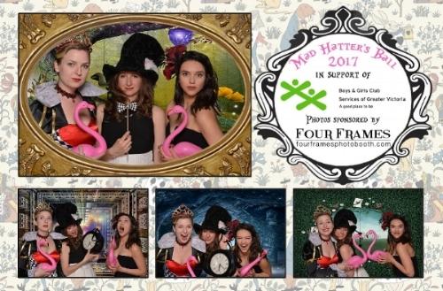 Amanda and friends Tara-Lee and Andrea at the ball!