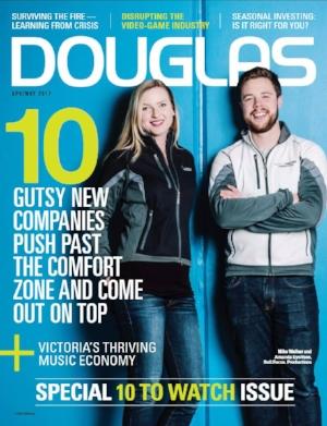 Douglas Magazine's  10 to Watch  Awards Winners (2017)