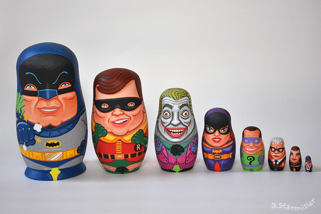 Batman Nesting Doll