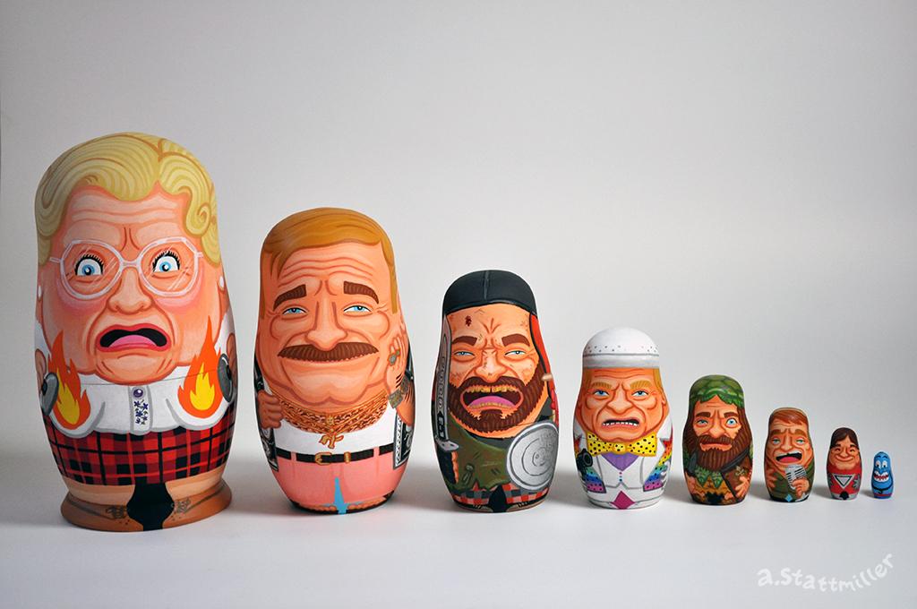 Robin Williams Nesting Doll