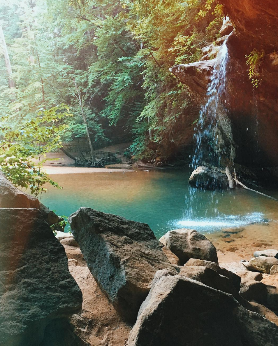 Photo by   @jcapone   at Hocking Hills State Park in Logan, Ohio