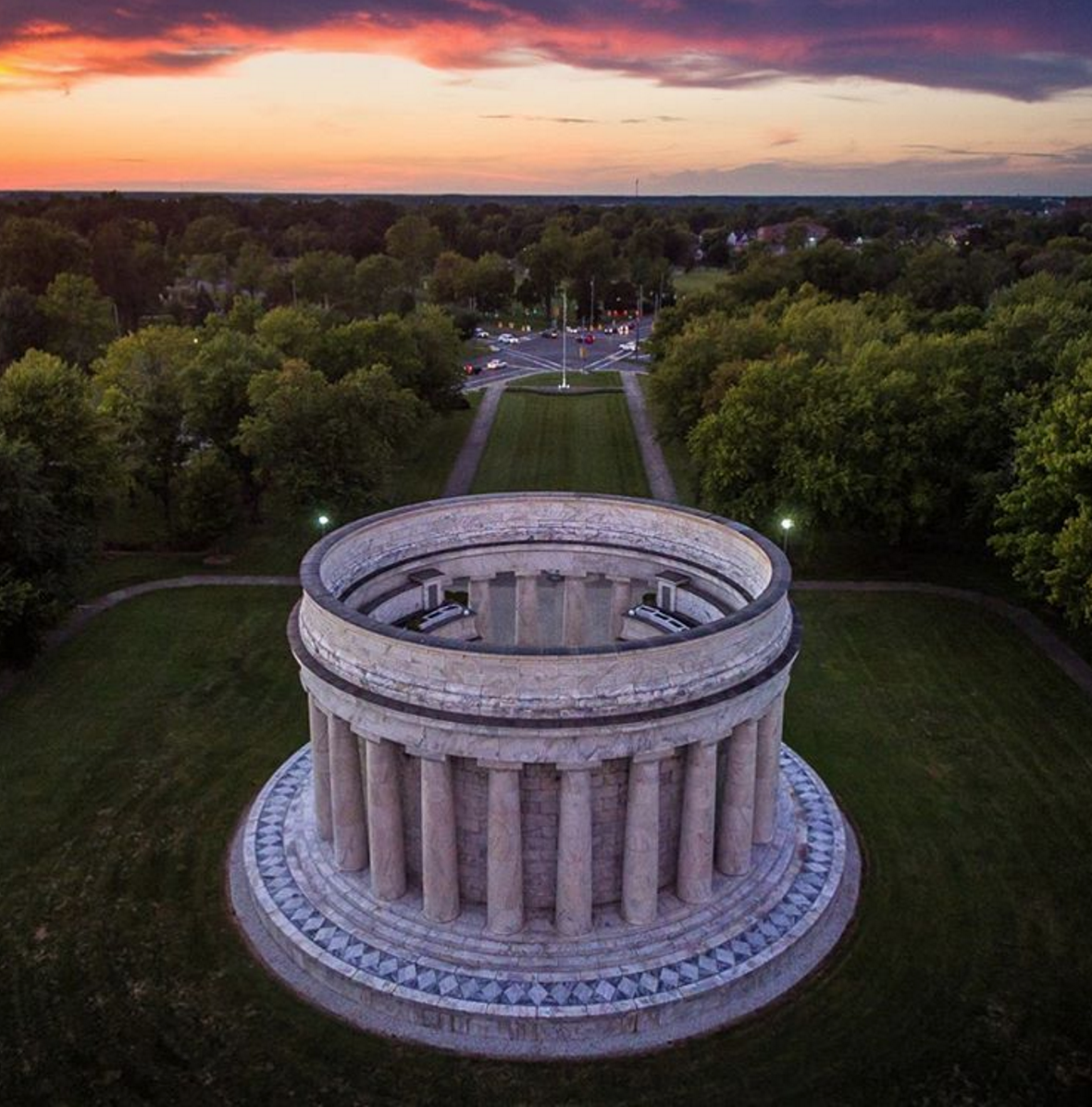 Photo by @ohiowanderer at Harding Memorial Park in Marion, Ohio