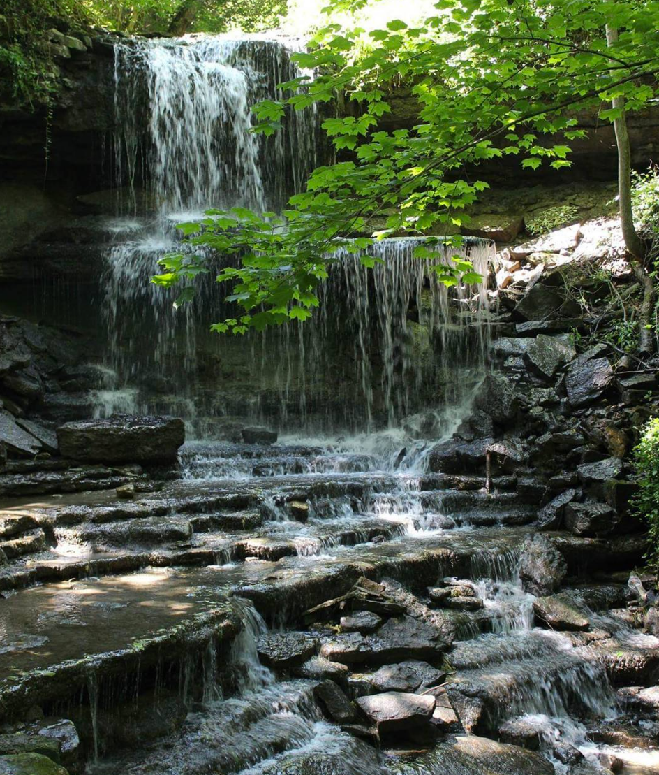 Photo by @inner.mermaid.designs at West Milton Cascades in West Milton, Ohio
