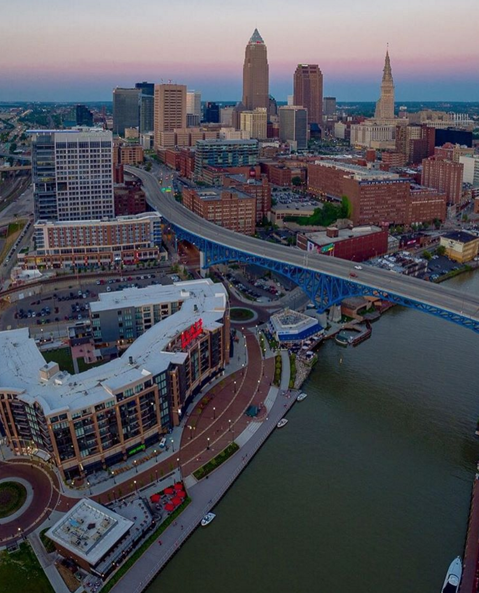 Photo by @aerialagents in Cleveland, Ohio