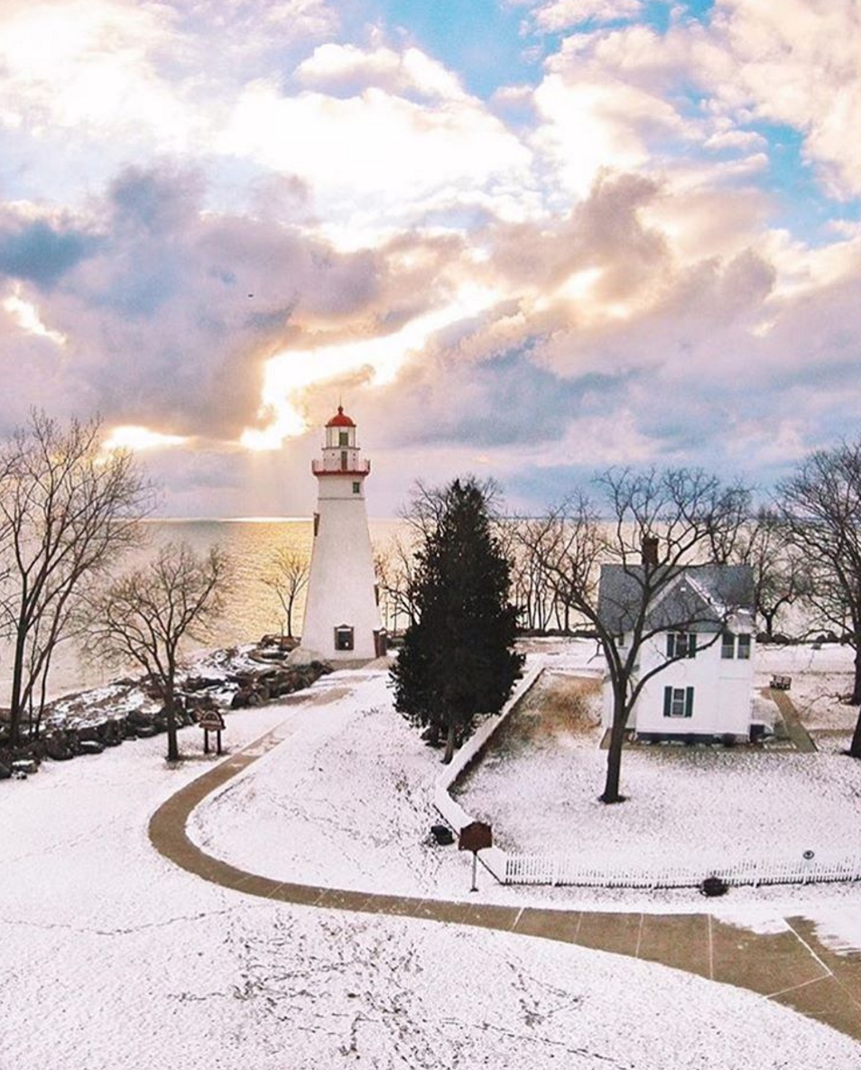 Photo by @littlecoal at Marblehead Lighthouse in Marblehead, Ohio