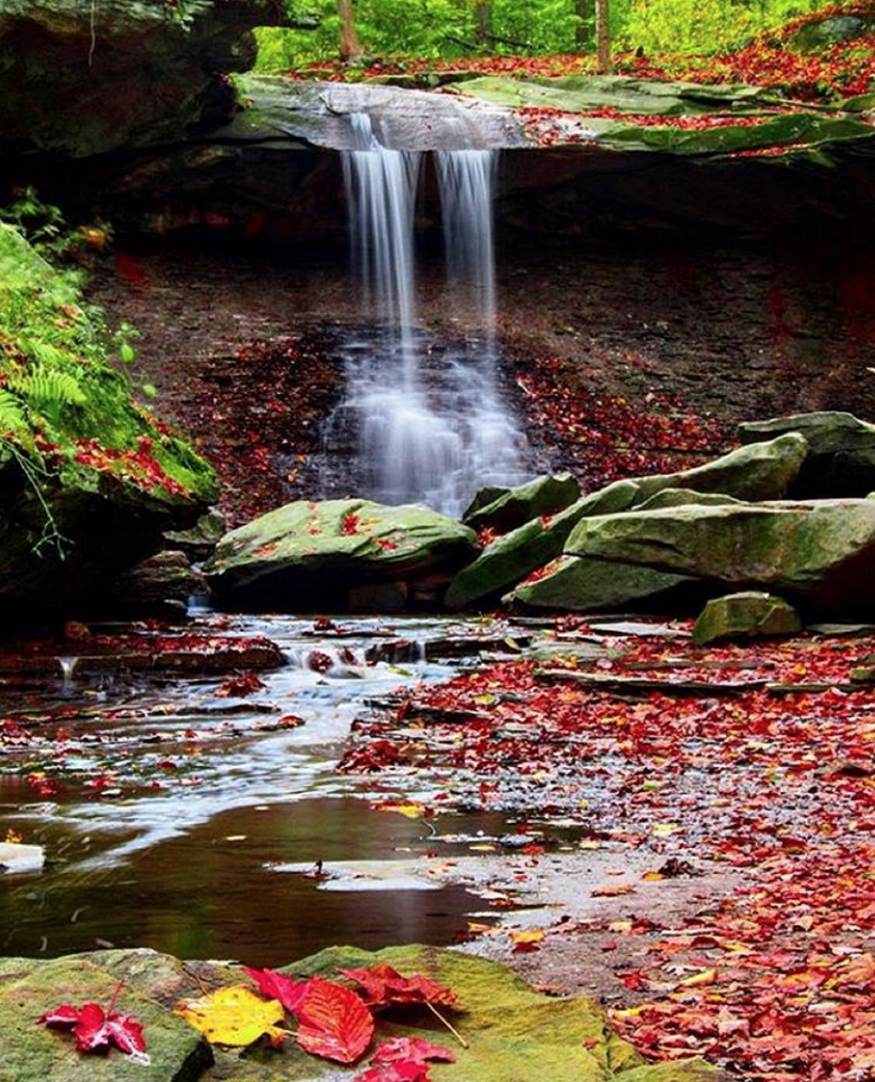 Photo by @kelwarner5 at Blue Hen Falls