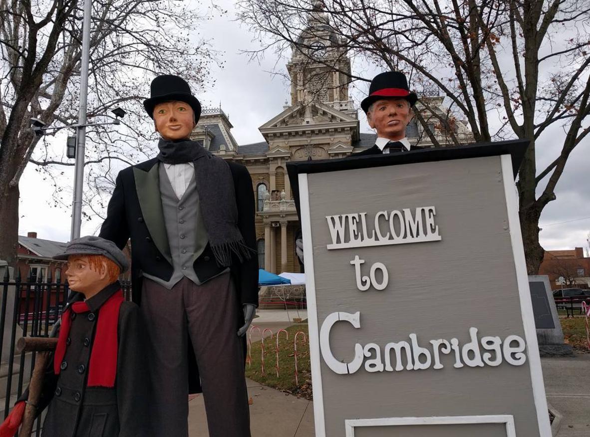 Photo by @dorjans at Dickens Victorian Village in Cambridge, Ohio