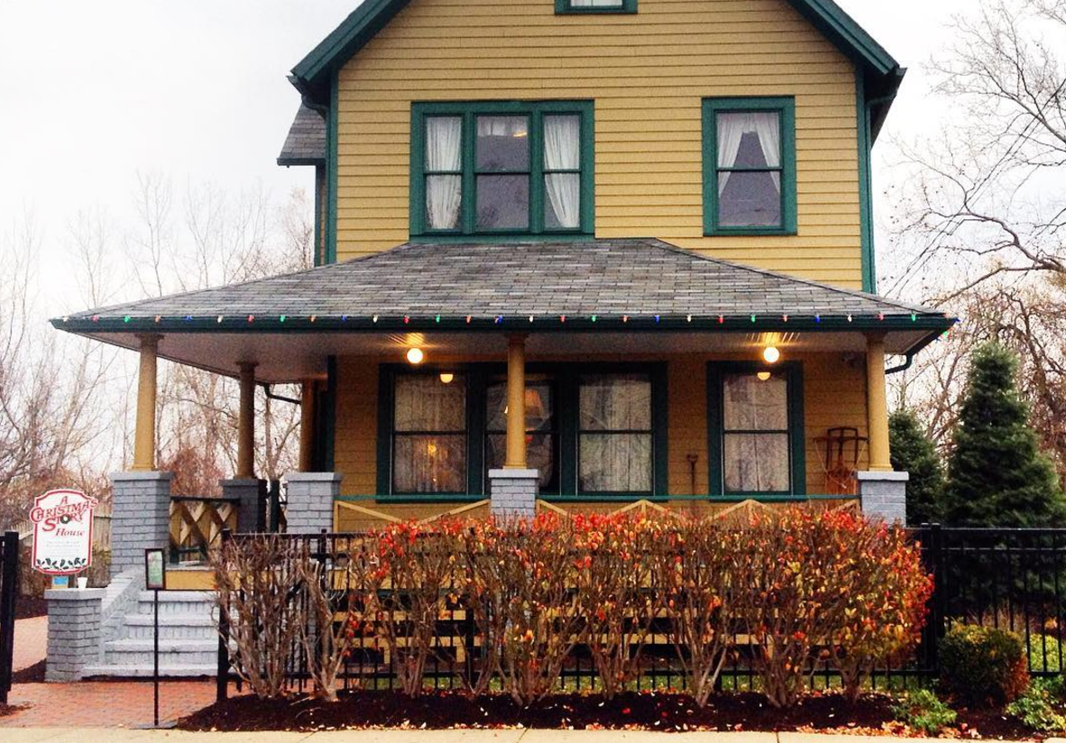 Photo by @misstruchon at A Christmas Story House in Cleveland, Ohio