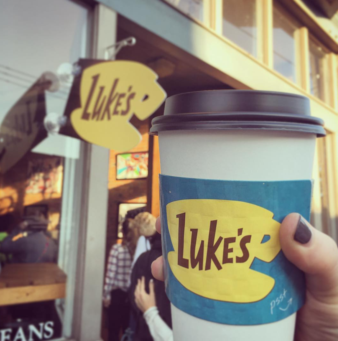 "Photo by @amcdougall87 at ""Luke's Diner"" aka UpperCup Coffee in Columbus, Ohio"