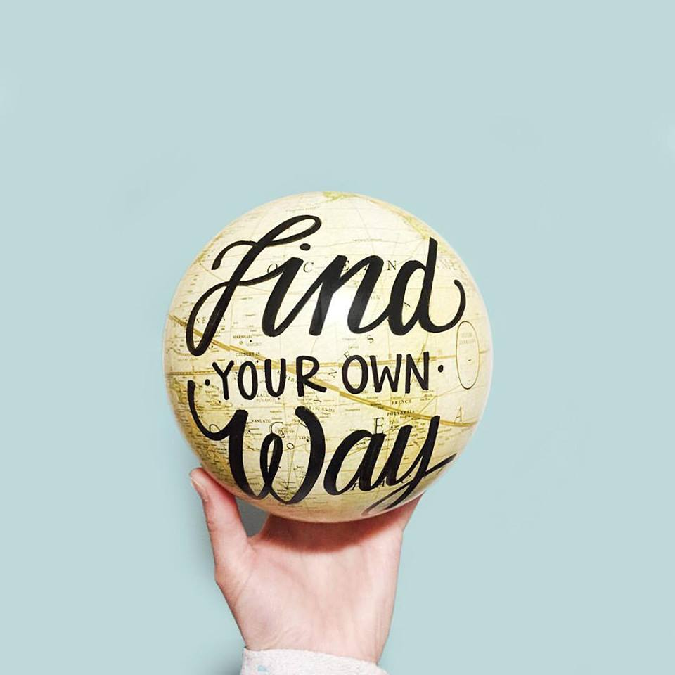 HLOS Find Your Own Way Globe