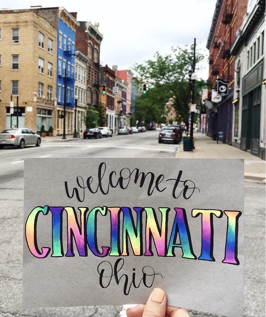 Welcome to Cincinnati - Ohio Explored - Hazy Paper Co