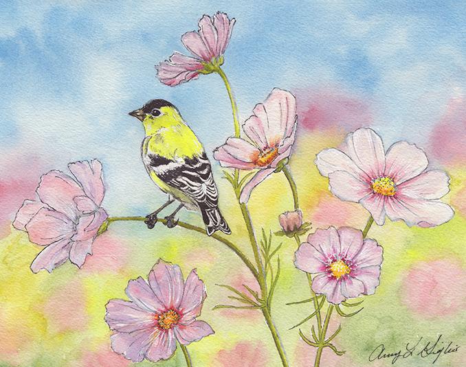 Amy Giglio Art Watercolor
