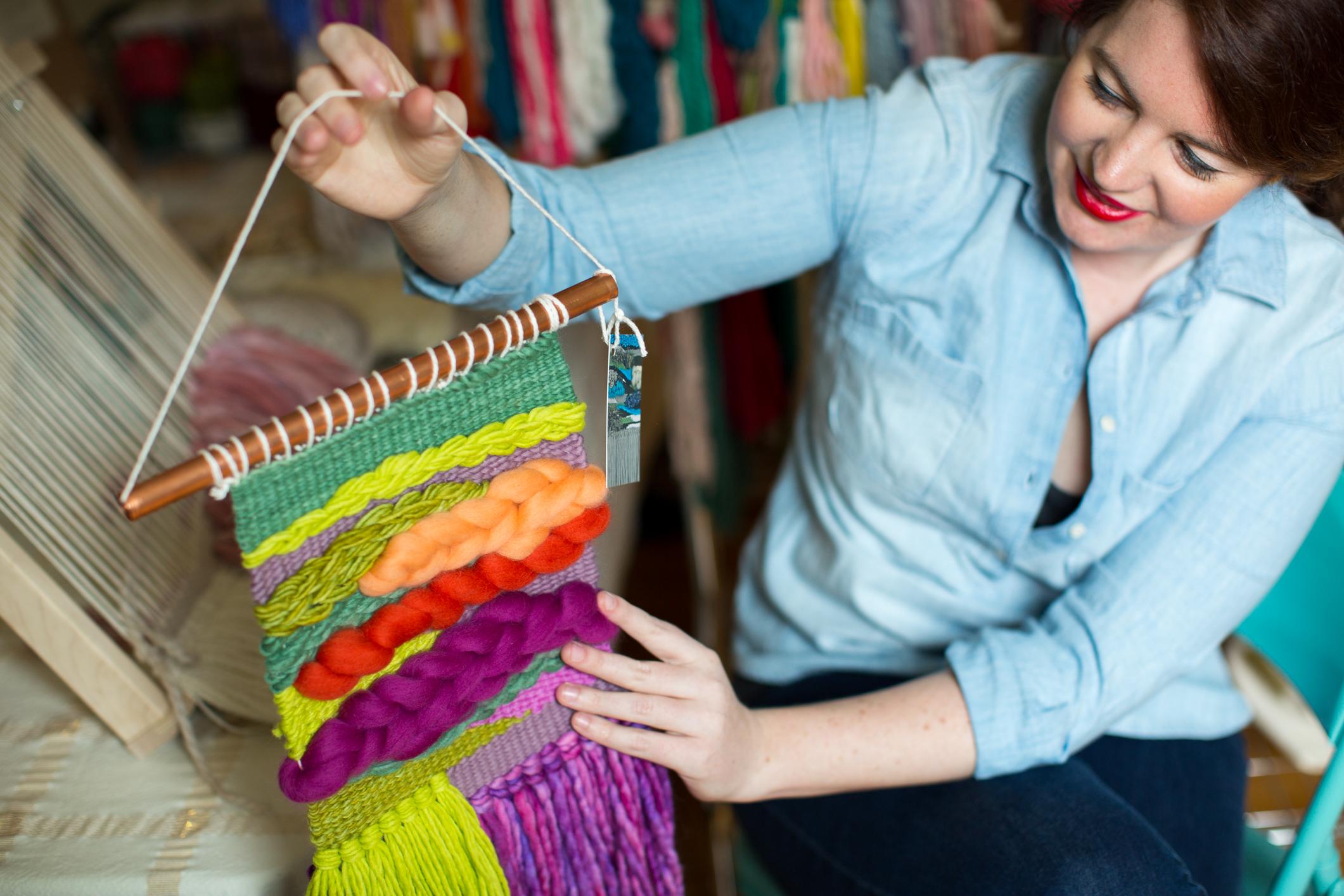 Sarah Harste Weavings Ohio
