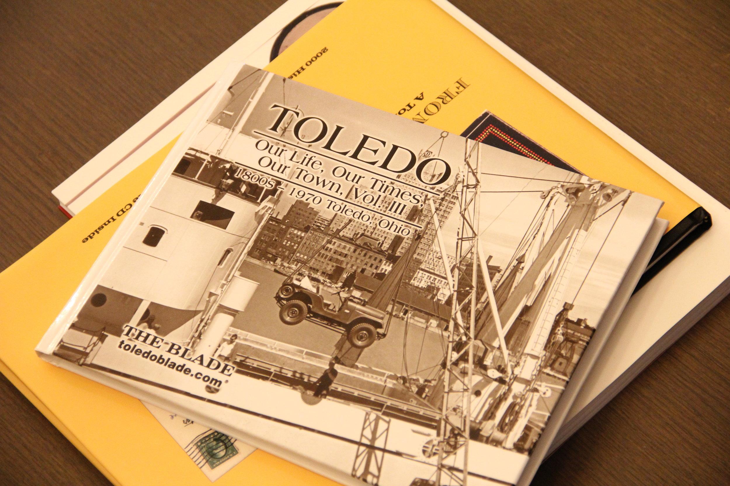 Toledo Blade Book