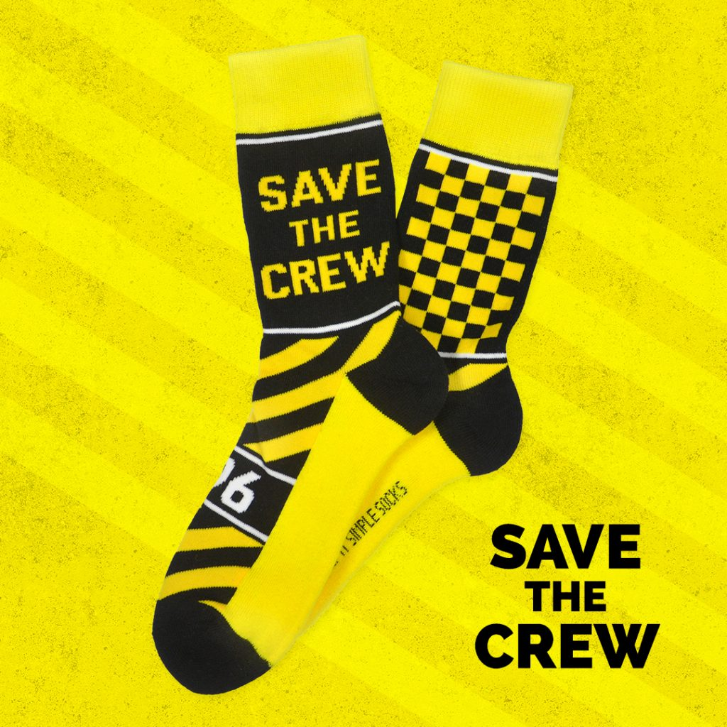 Keep It Simple Socks Ohio Columbus Crew Collab