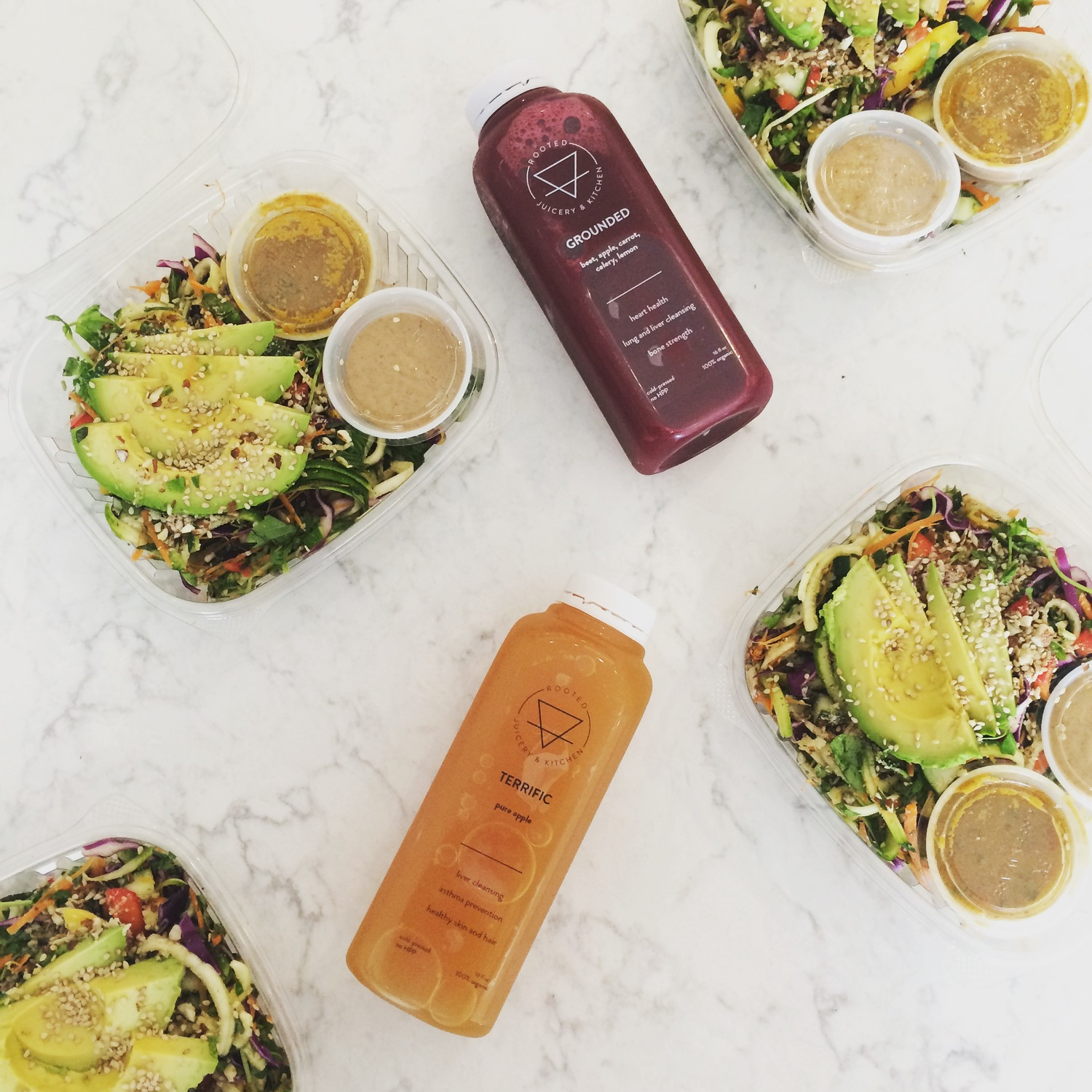 Rooted Juicery & Kitchen - Cincinnati, Ohio