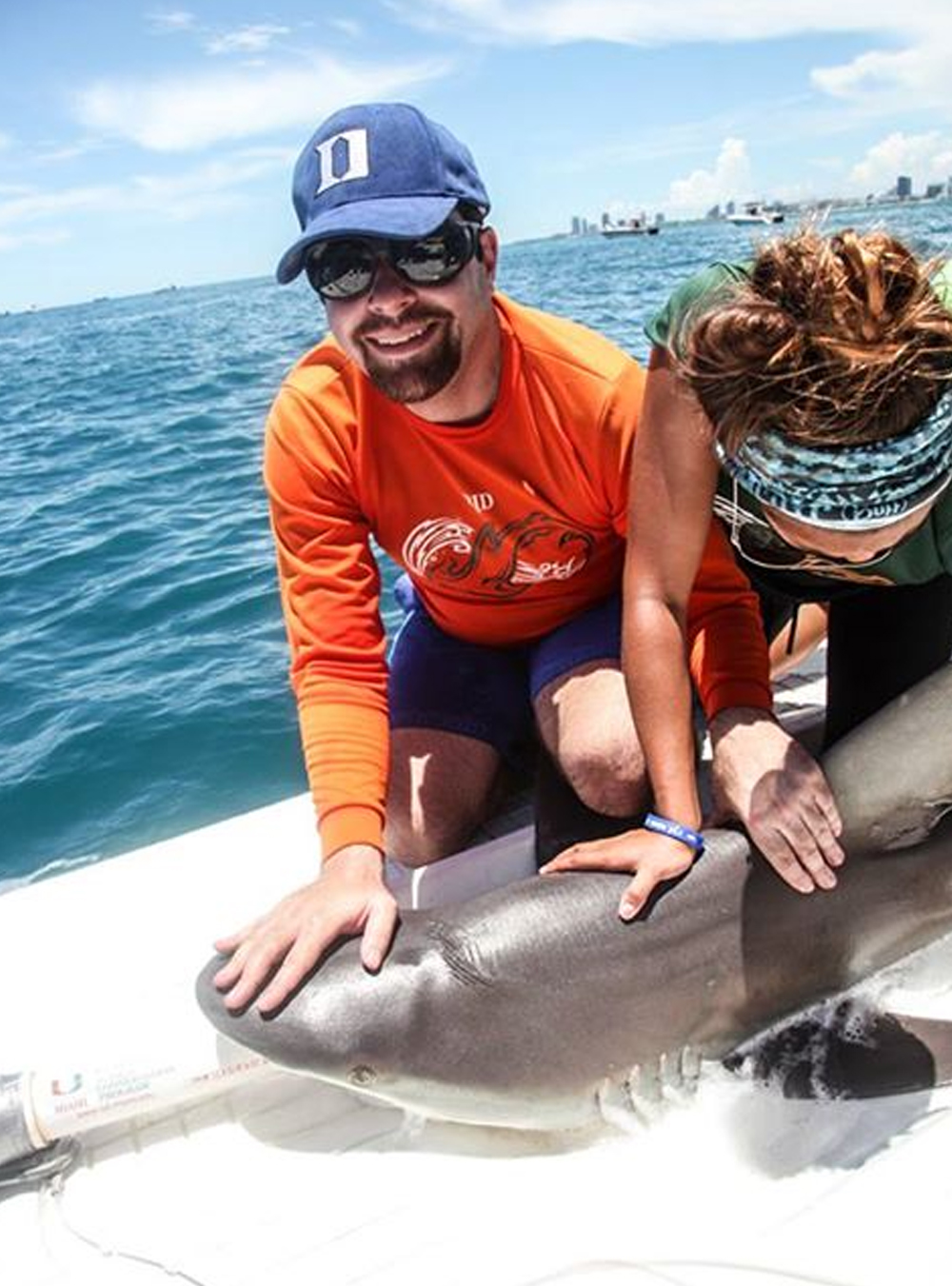 David Shiffman, Shark Conservation Biologist - Dr. David Shiffman has many years of experience as a science communicator and is known for his passion for shark science and conservation. He has a large following on social media, primarily Facebook and Twitter.