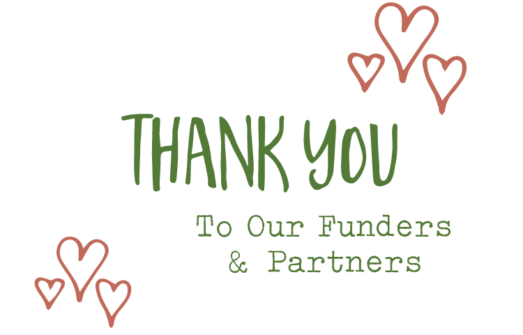 Thank you to our funders