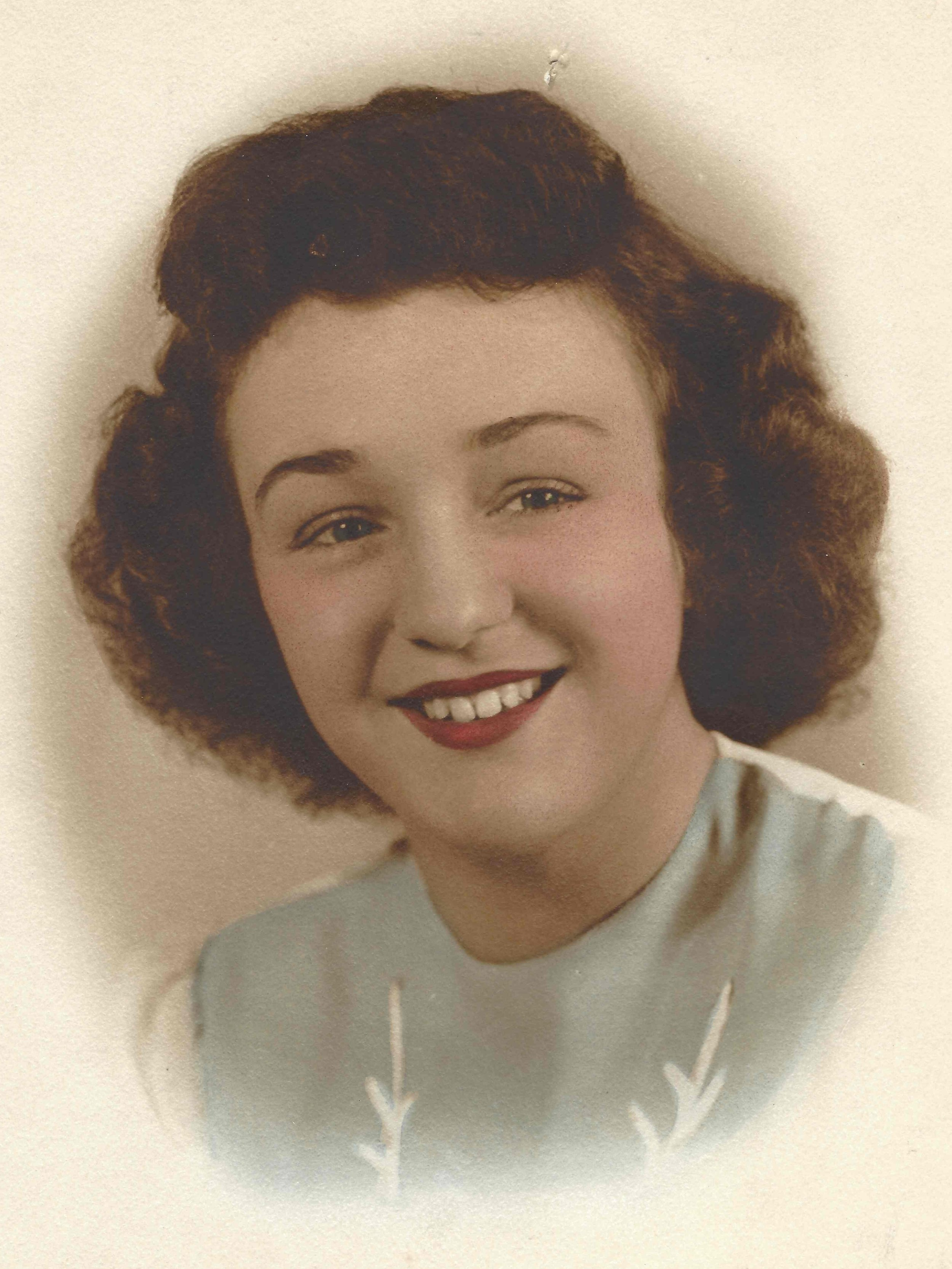 My Mom in 1945