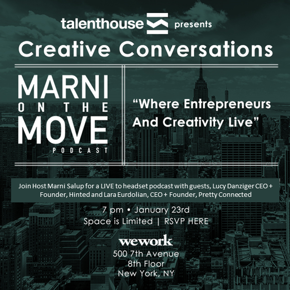 Creative Conversations - A Live Series Presented by Talent House Agency