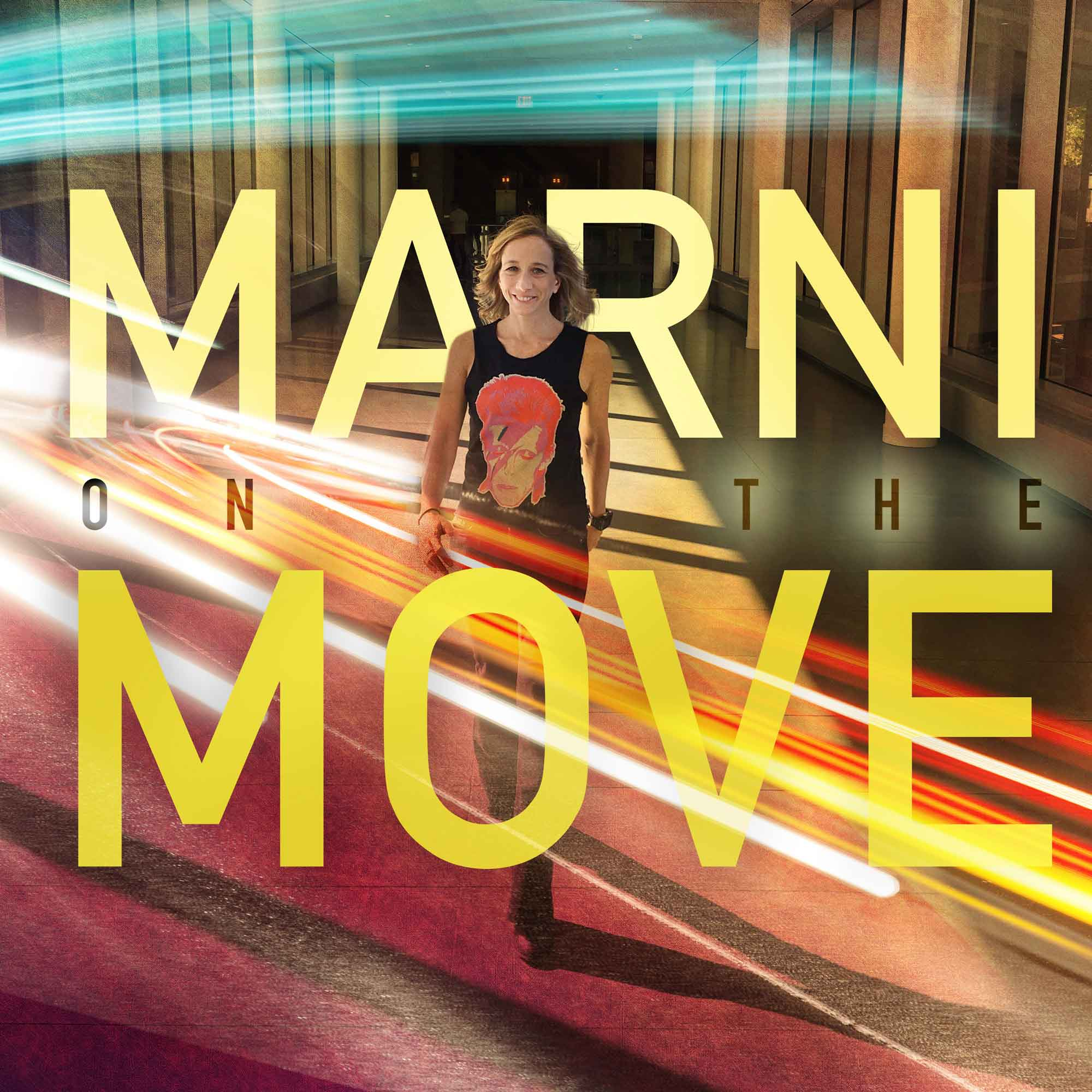 Marni on the move - Athletes, entrepreneurs, experts and the workout and wellness routines that fuel them for success.