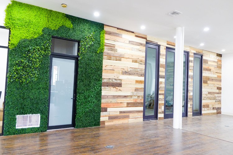 Photo: b + c portfolio 'Living Wall Installation' at Chosen Foods