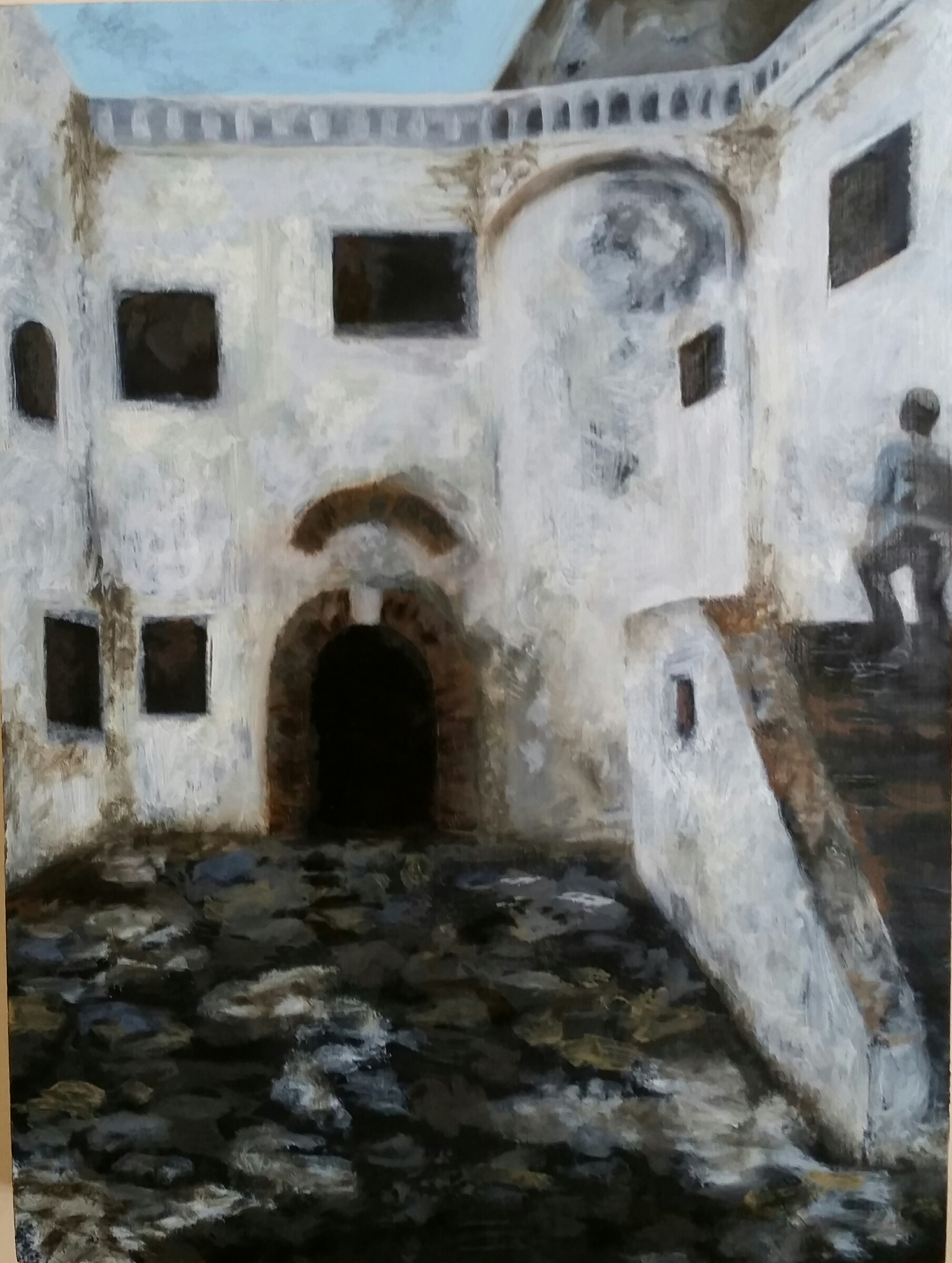 Elmina Castle: Courtyard