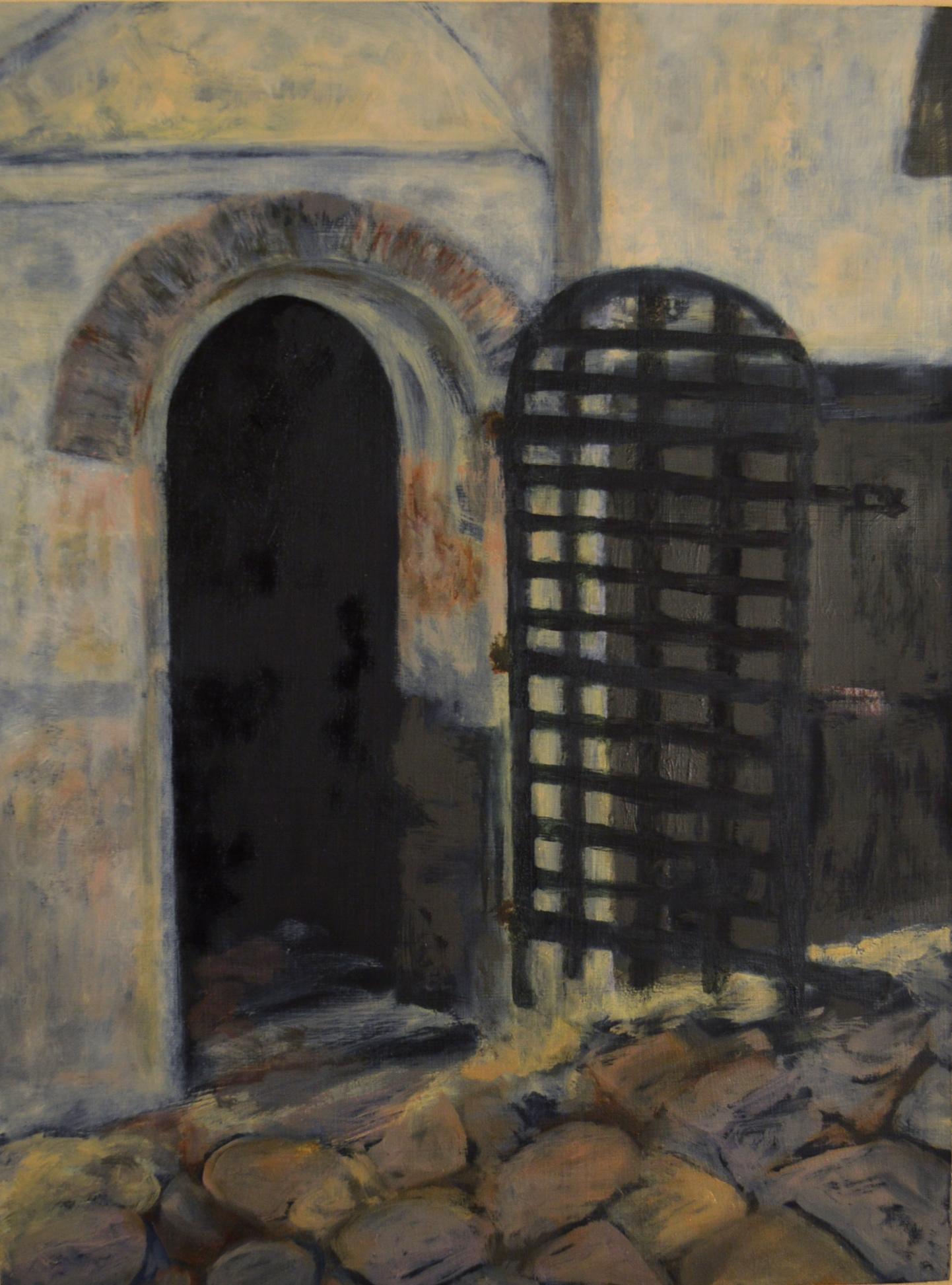 Elmina Castle: Holding Cell