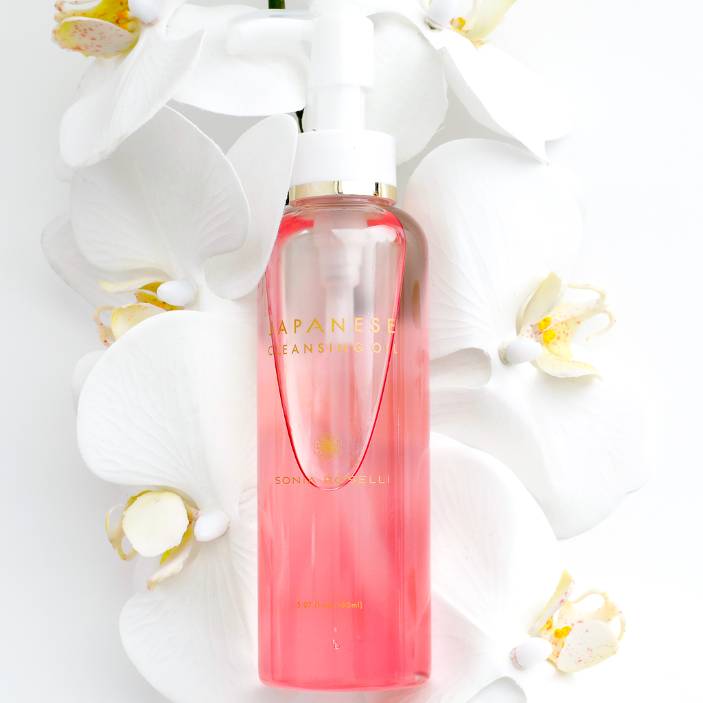 JAPANESE CLEANSING OIL - $39   A dual phase, moisturizing cleanser that rinses away clean, along with all traces of dirt and makeup. Use alone on bare skin, or paired with your other facial cleanser for a double cleanse to thoroughly remove makeup.  Follow with sexApeel™ Instant Exfoliation Spray.