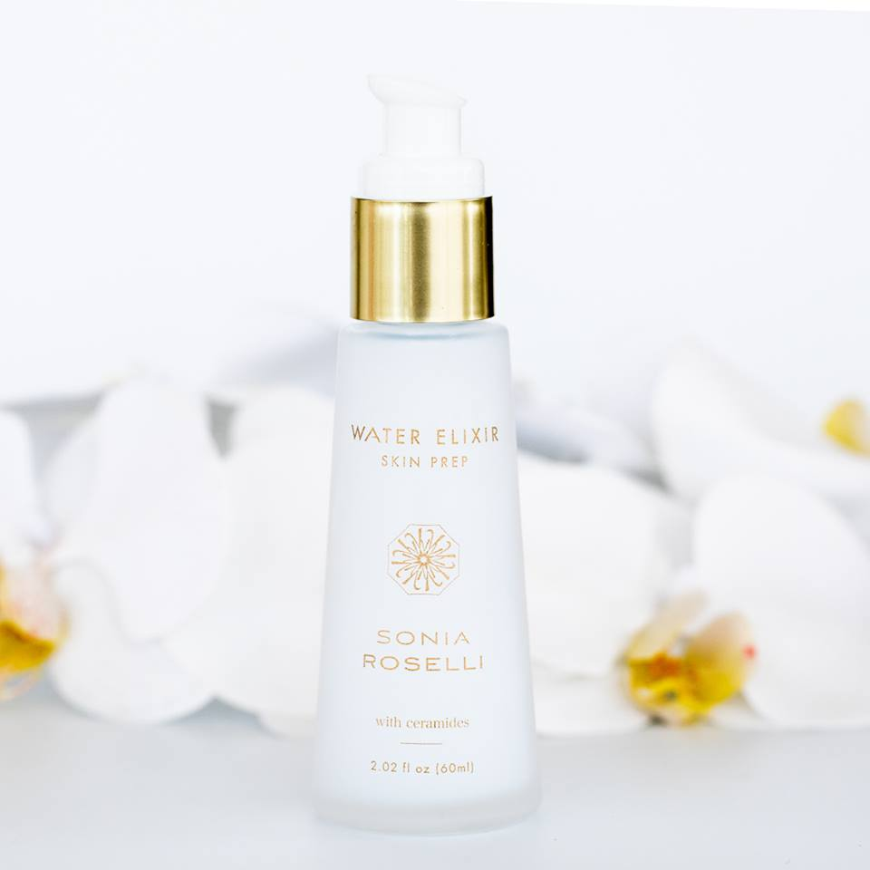 WATER ELIXIR SKIN PREP - $49   A cooling, soothing, repairing, 2-in-1 moisturizer and serum. Hyaluronic acid helps plump and hydrate even the most parched skin.  Follow with Water Oil Skin Prep.