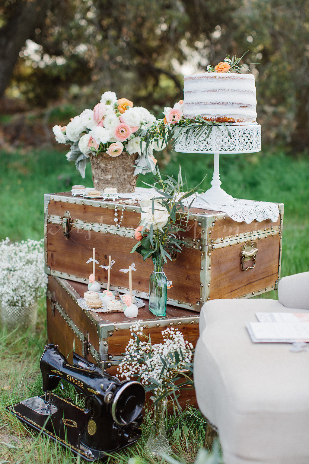 Vintage Wedding Rentals by Party Pieces by Perry