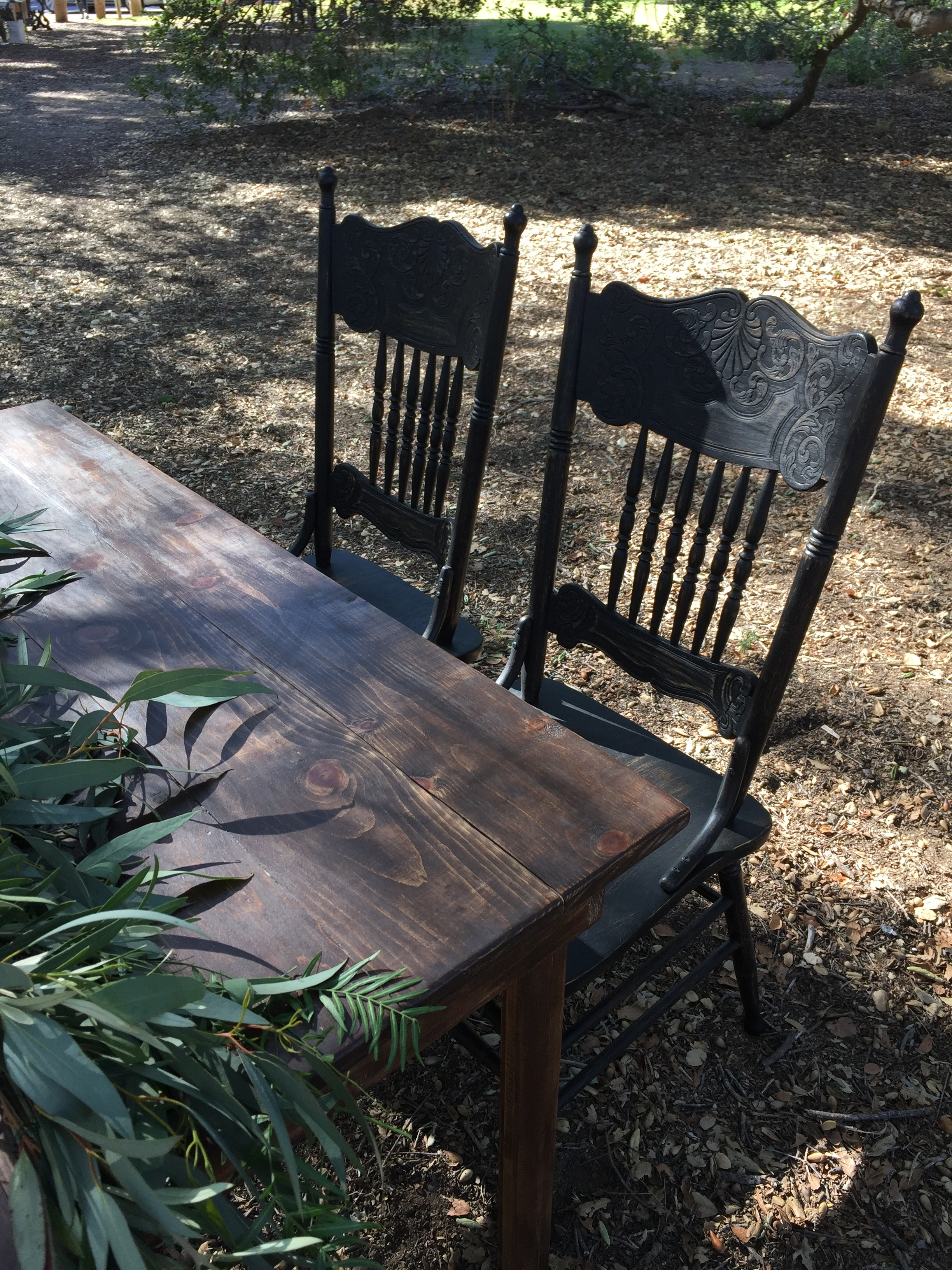 Black Dining Chair - (2)