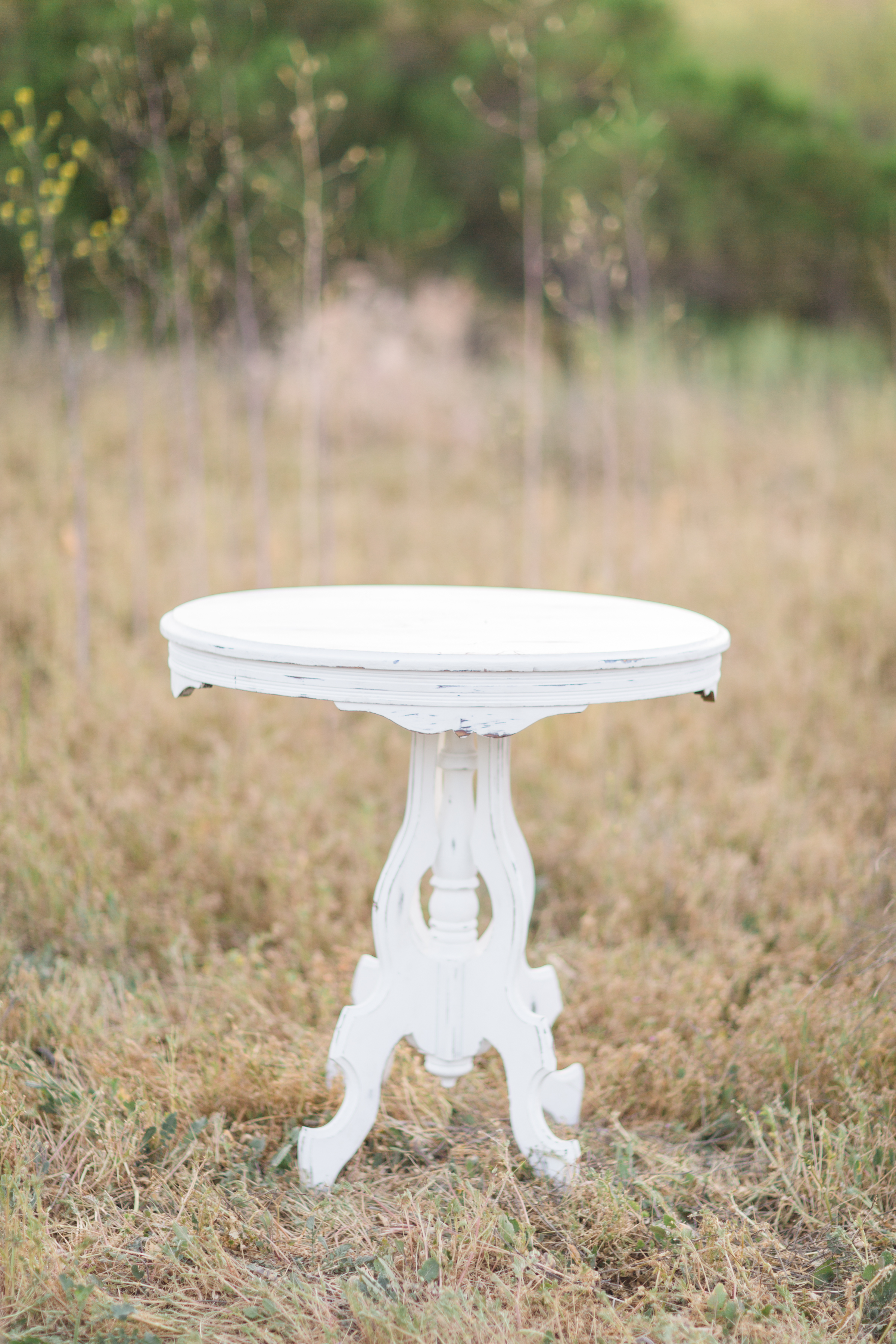 Oval Side Table - (1)